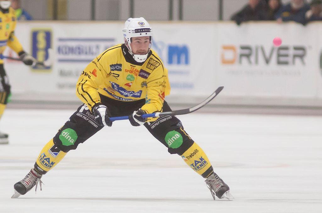 Derby Elitseriebandy Broberg - Edsbyns IF
