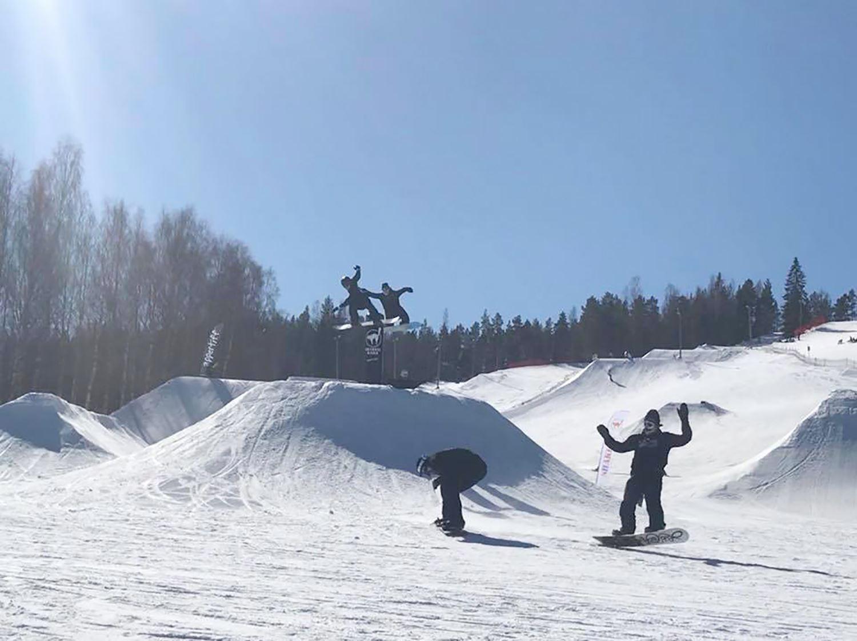 Bollebacken Bollnäs slalom skidsemester hälsingland