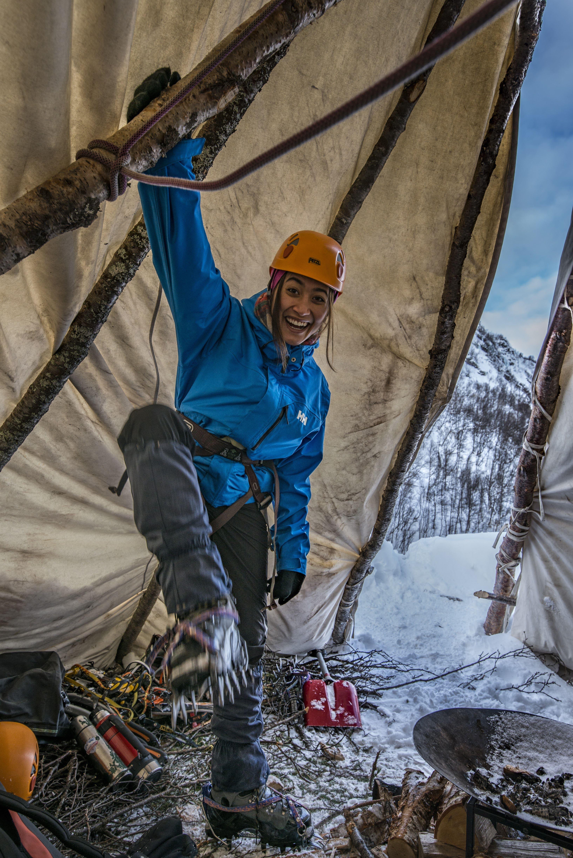 Jan Oliver Koch,  © Jan Oliver Koch, Isklatring i Lyngen - Lyngen Adventure