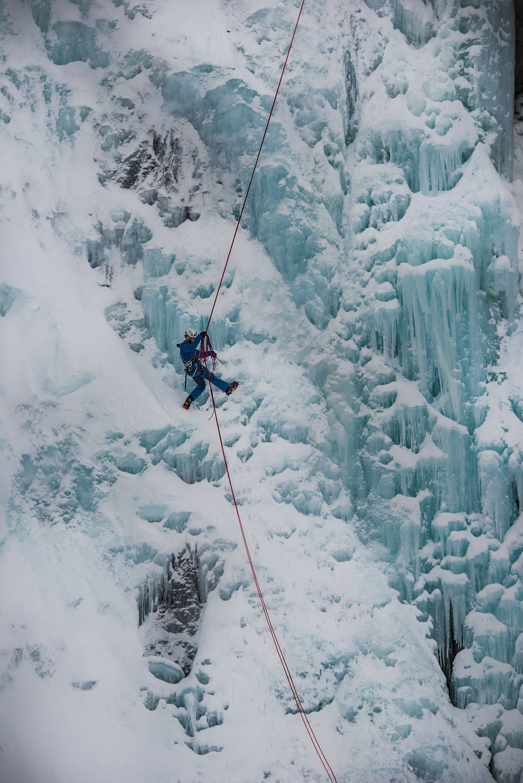 Ice Climbing - Departure Lyngseidet 10:45 - Lyngen Adventure