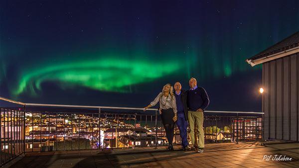 Pål Jakobsen, Northern lights from Breidablikk