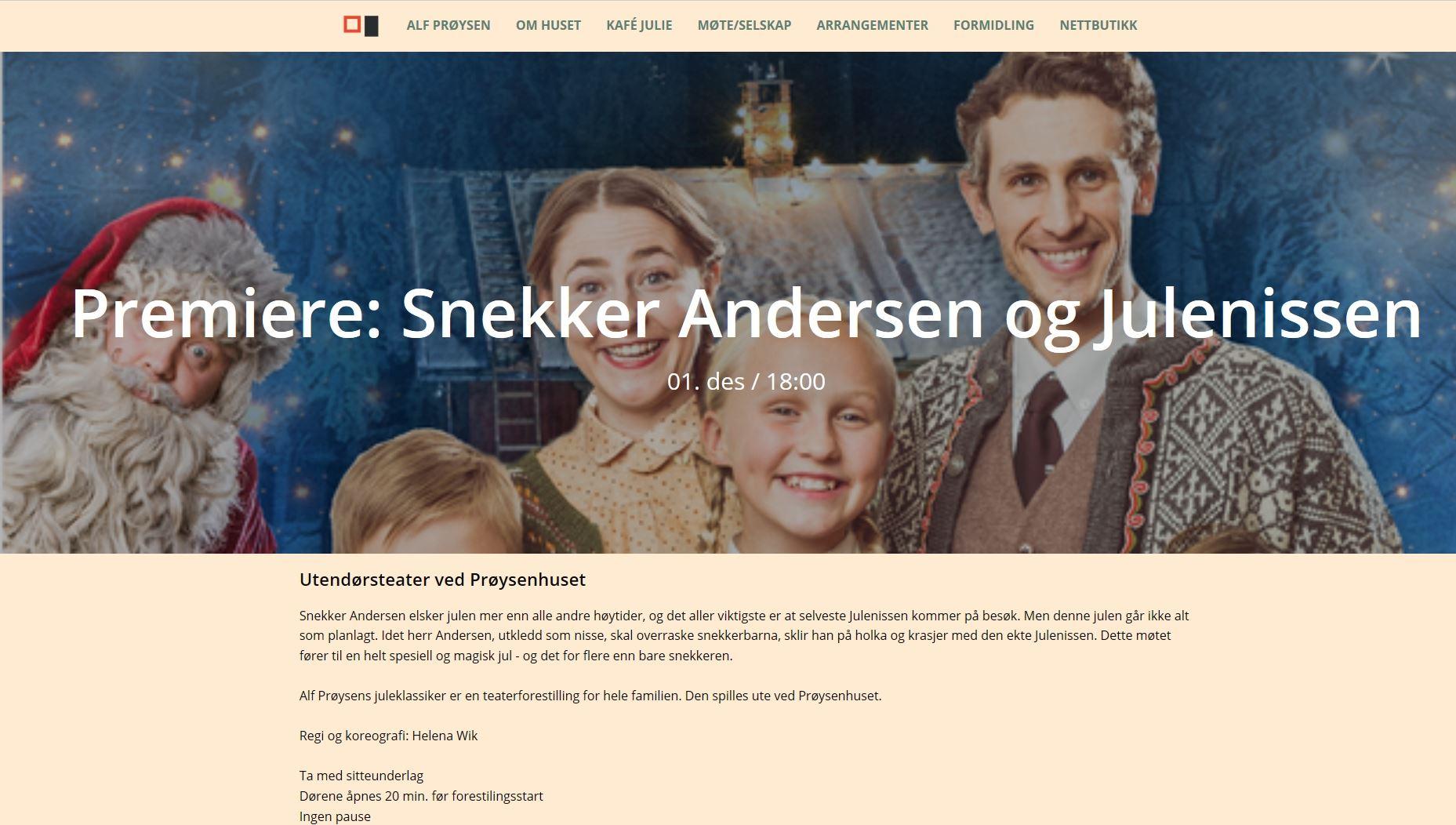Carpenter Andersen and Santa Claus