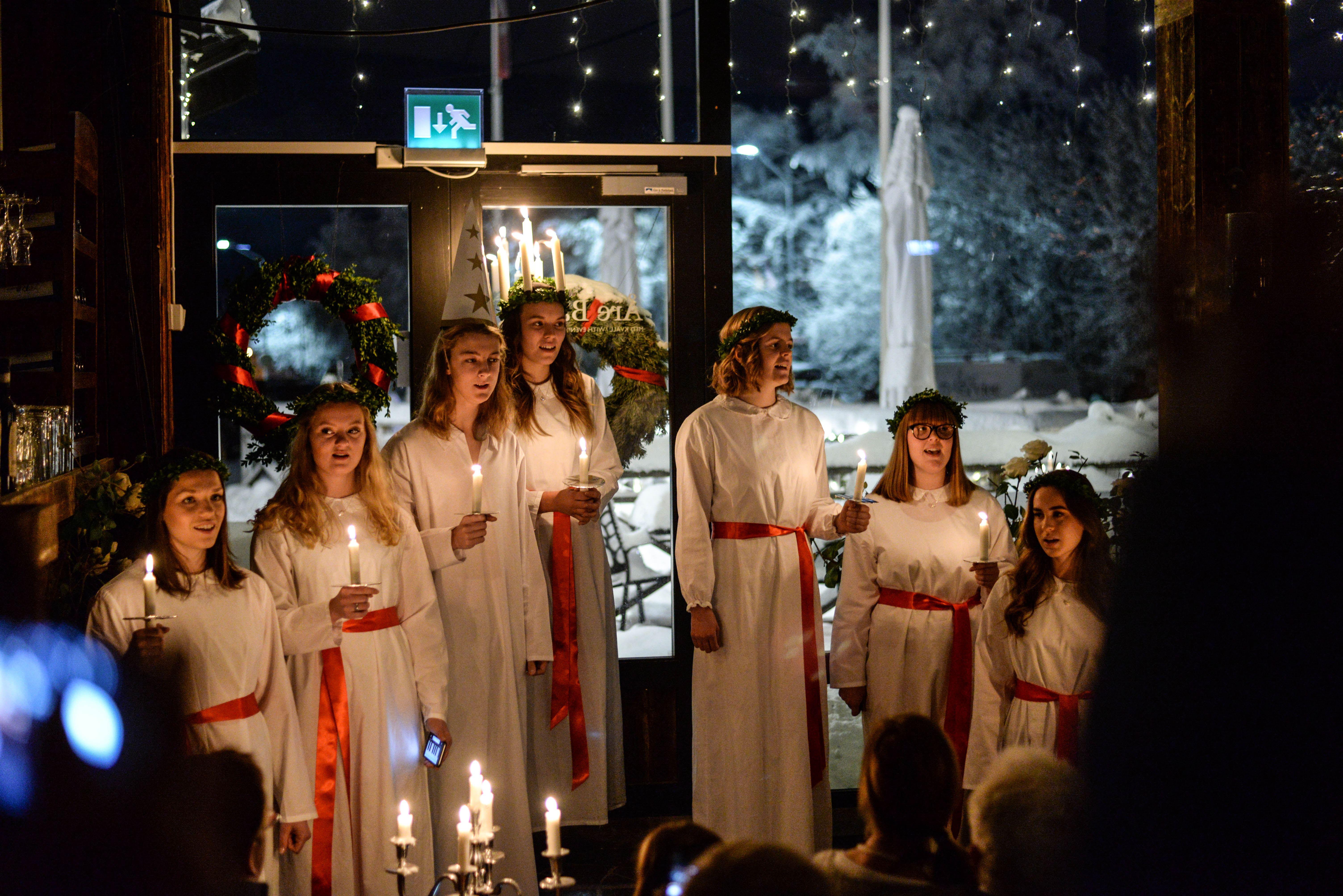 Lucia i Åre