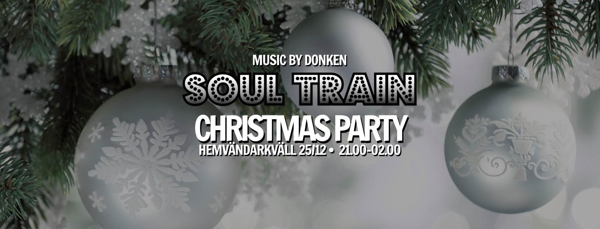 Soul Train Christmas Party