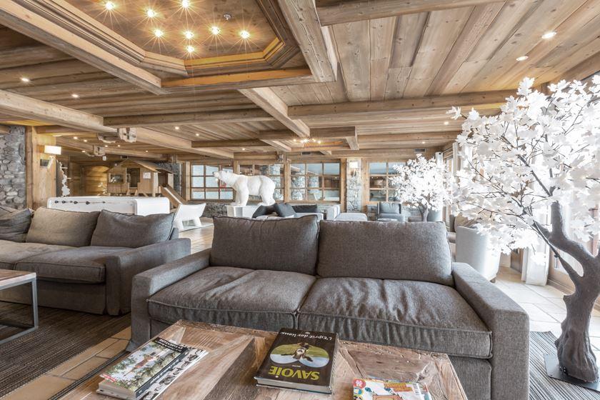 Résidence skis aux pieds / Résidence & Spa LES CHALETS DU GYPSE ( 4,5 Flocons