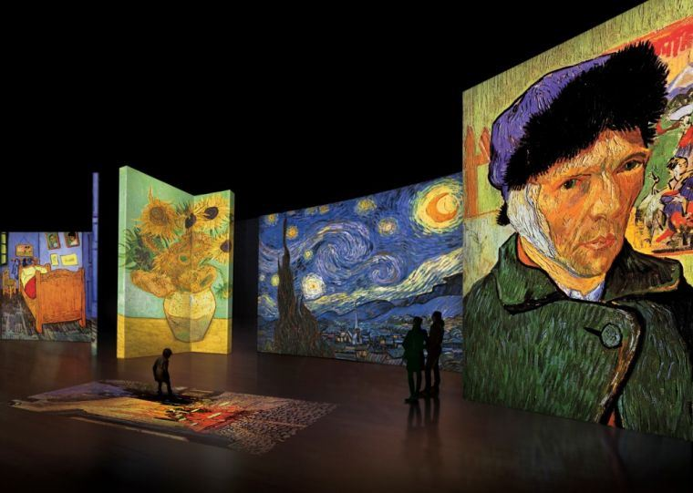 Van Gogh Alive - The Experience at Kalmar Castle