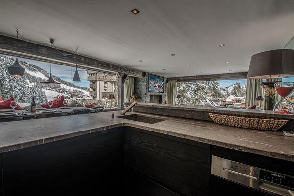 4 pièces 4 personnes skis aux pieds / DIAMANT DE BELLECOTE (Montagne de Rêve) / Séjour Sérénité