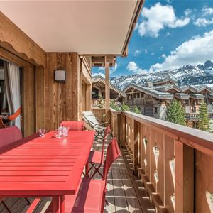4 rooms 6 people ski-in ski-out / LES VOLETS BLEUS (Mountain of Charm)