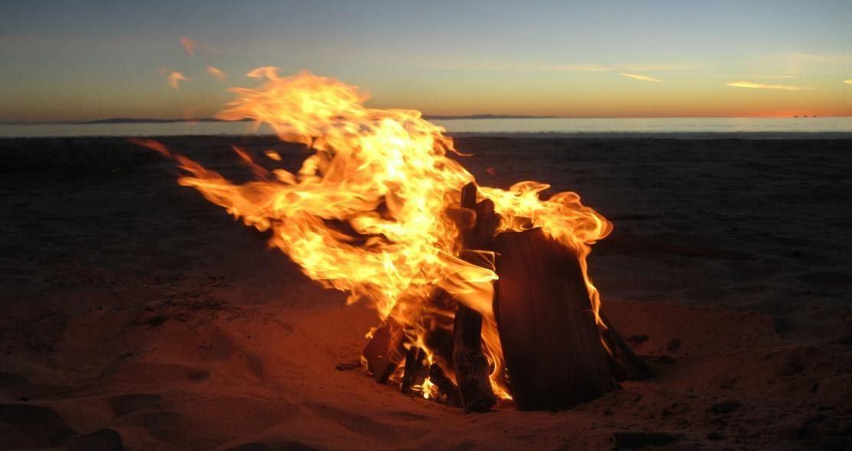 Arctic Beach Bonfire & Hike