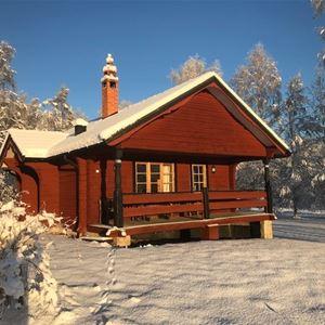 Vasaloppet vinter. Privat stuga M355A Isunda, Mora