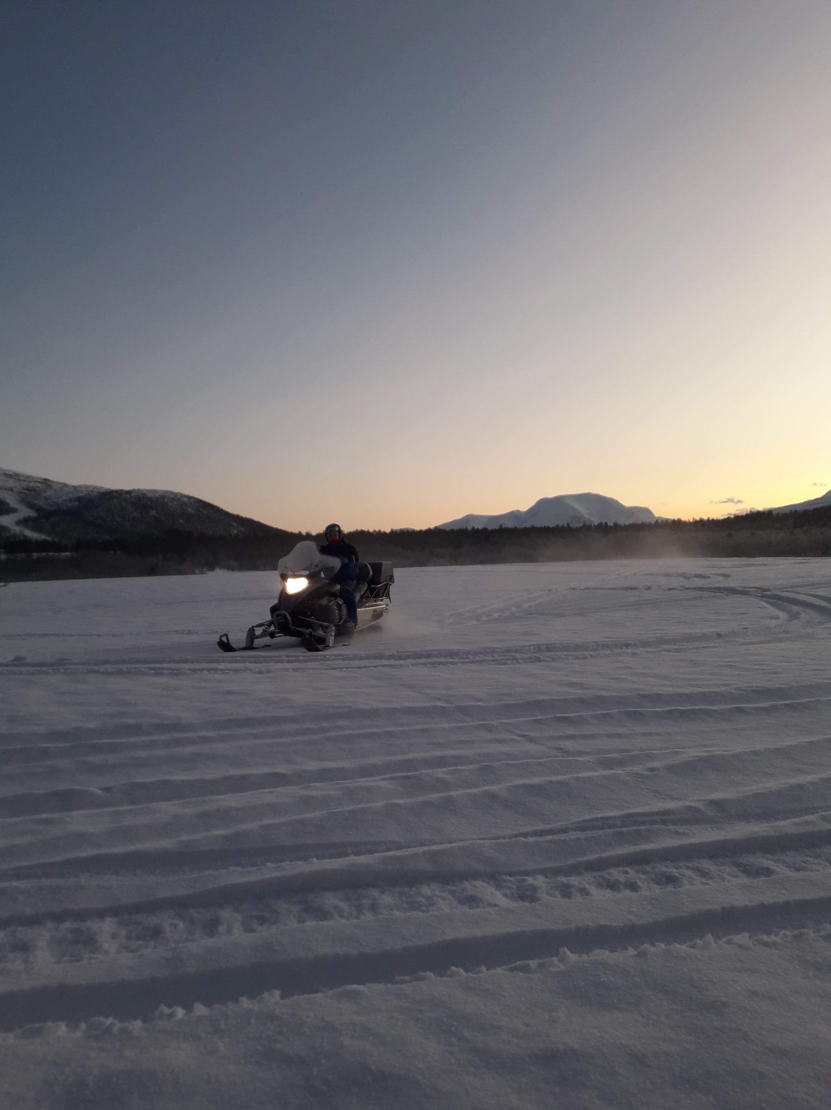 Snowmobile Fun - Destination Snowman