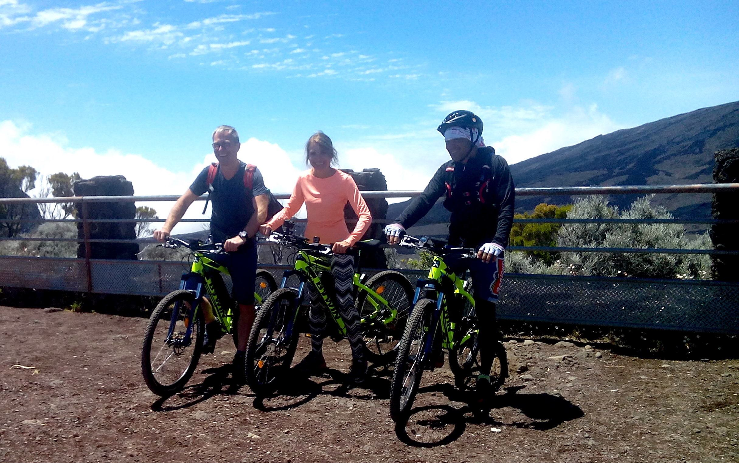 Excursion VTT au Volcan