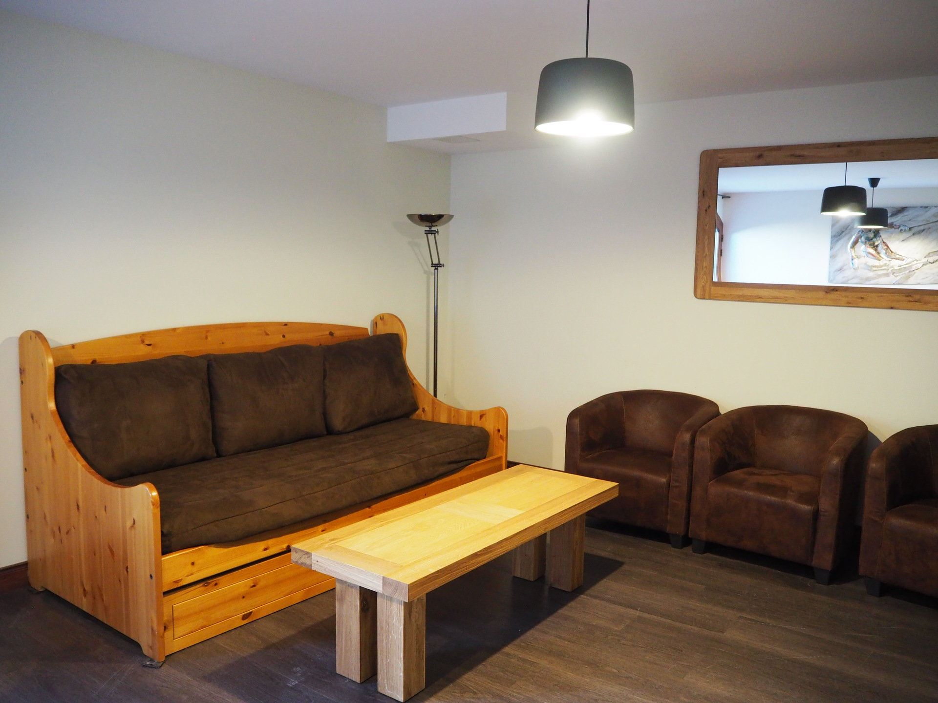 3 Rooms 6 Pers ski-in ski-out / LES CRISTAUX 20