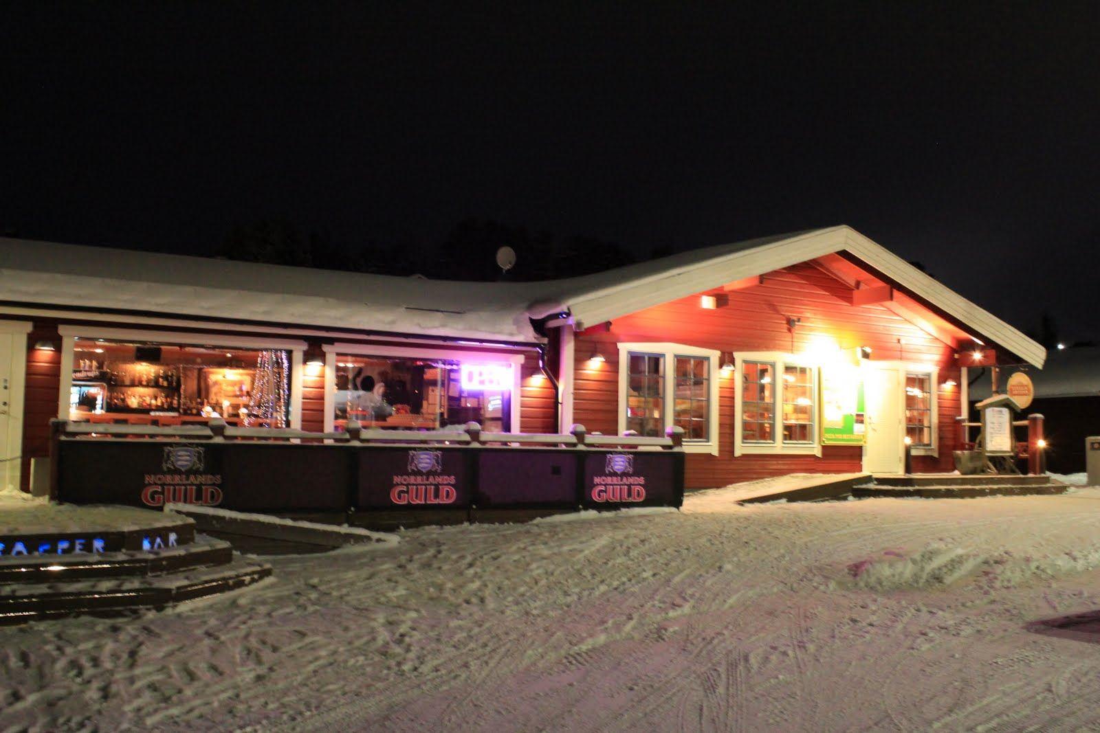 Nattklubb på Trapper
