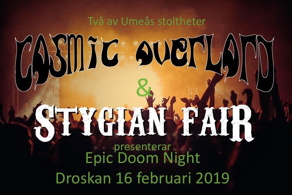 Epic Doom Night på Droskan