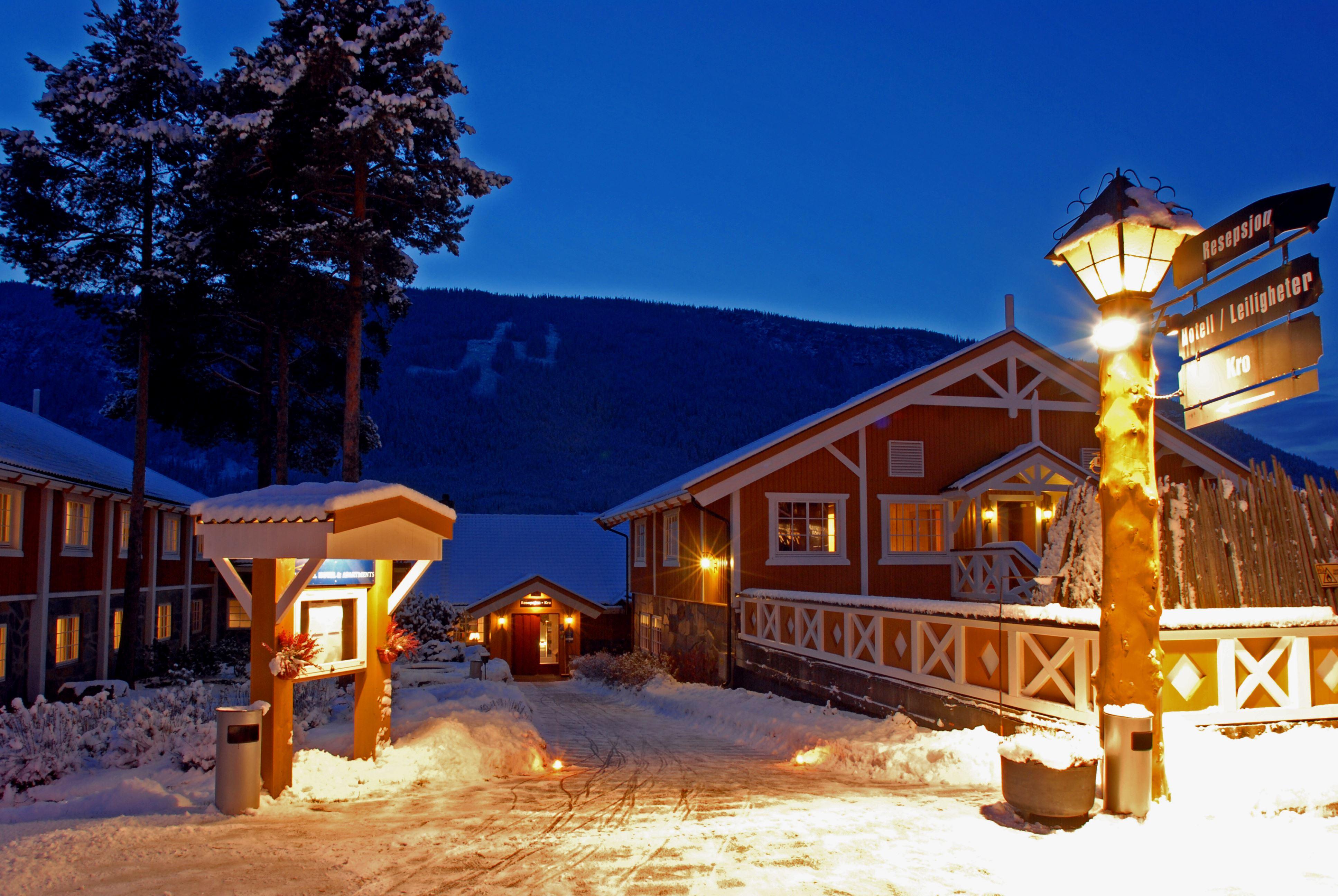 Skistall hos Hafjell Hotell