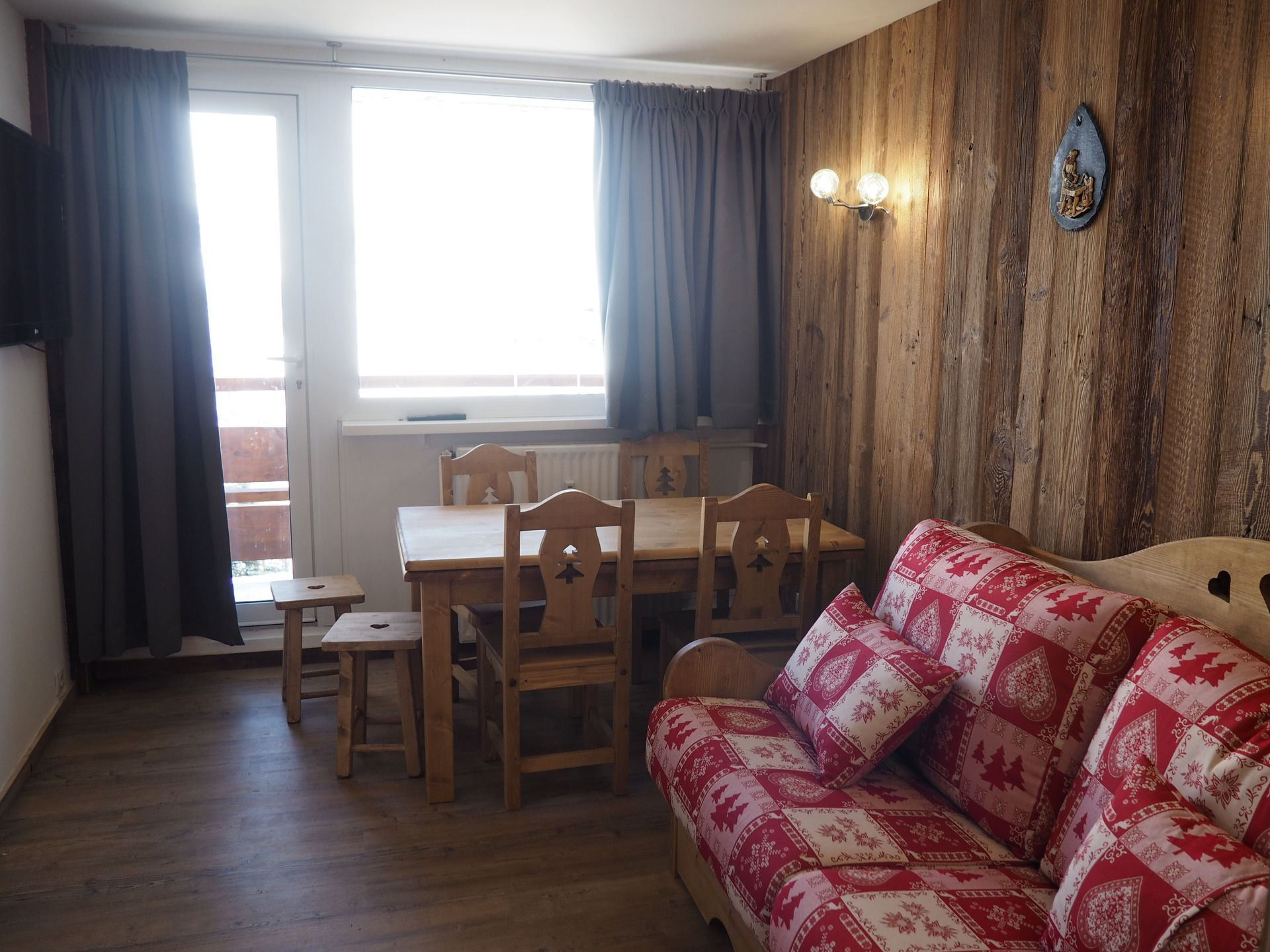 2 Rooms 5 Pers ski-in ski-out / LAUZES C33