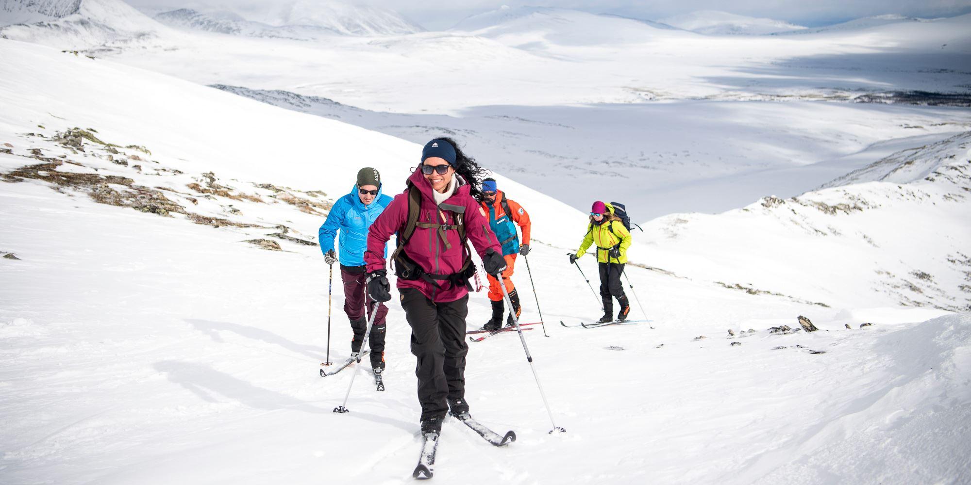 På ski fra fjellstue til fjellstue i Rondane - med bagasjetransport