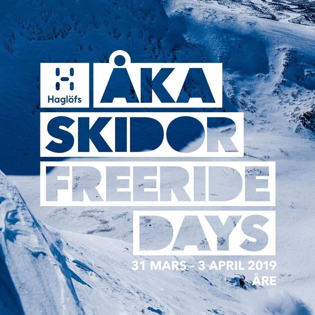 Haglöfs Åka Skidor Freeride Days