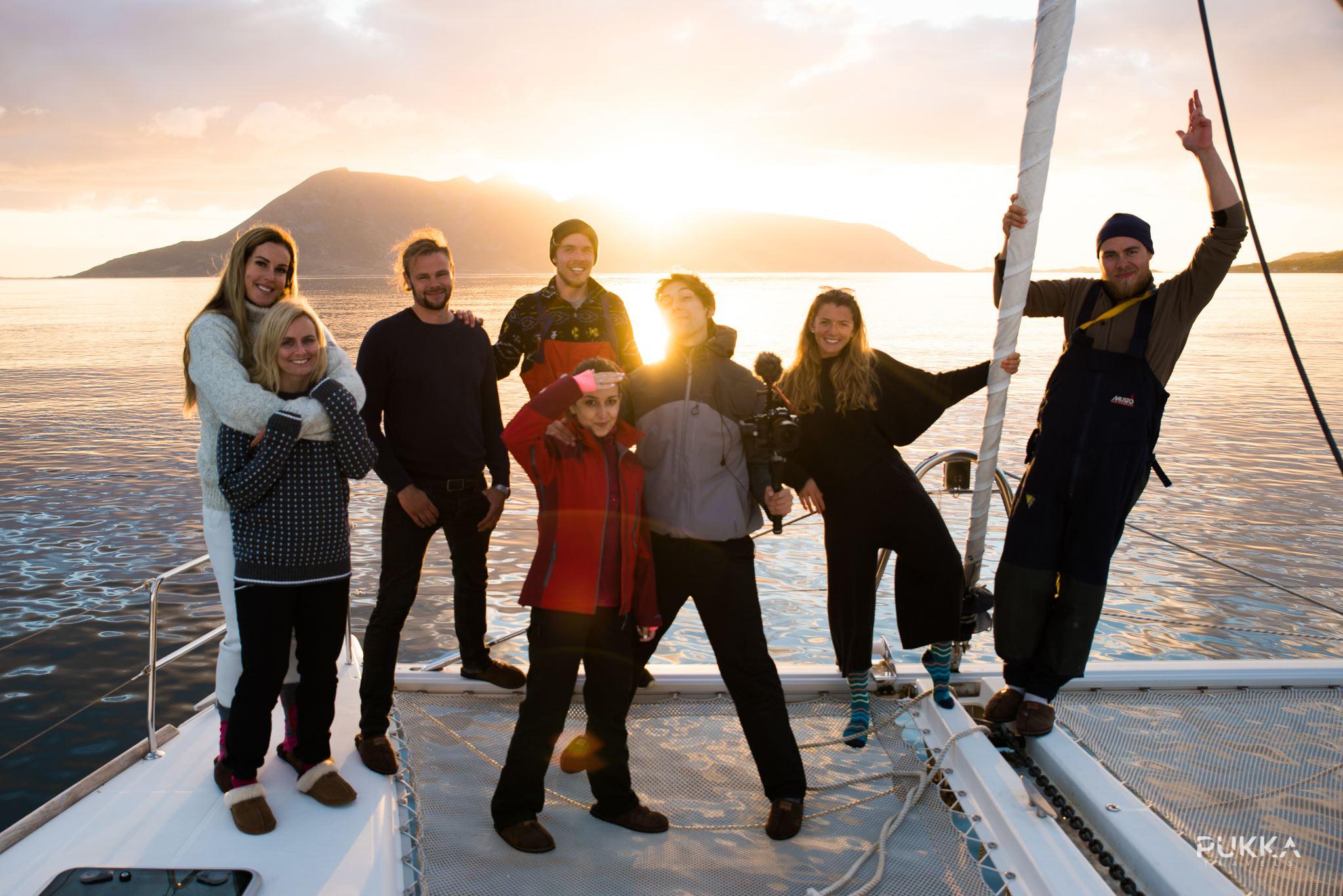 Midnattssol/solnedgang seiling - Pukka Travels