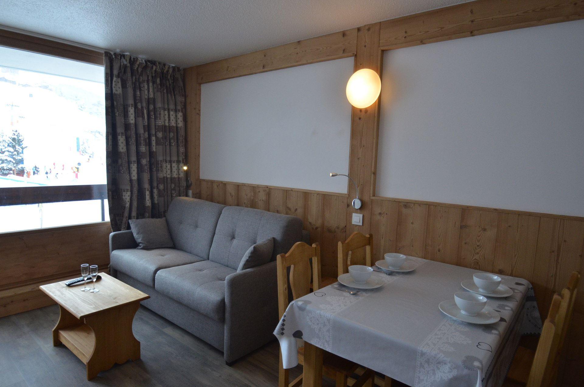 4 Pers Studio ski-in ski-out / LAC DU LOU 110