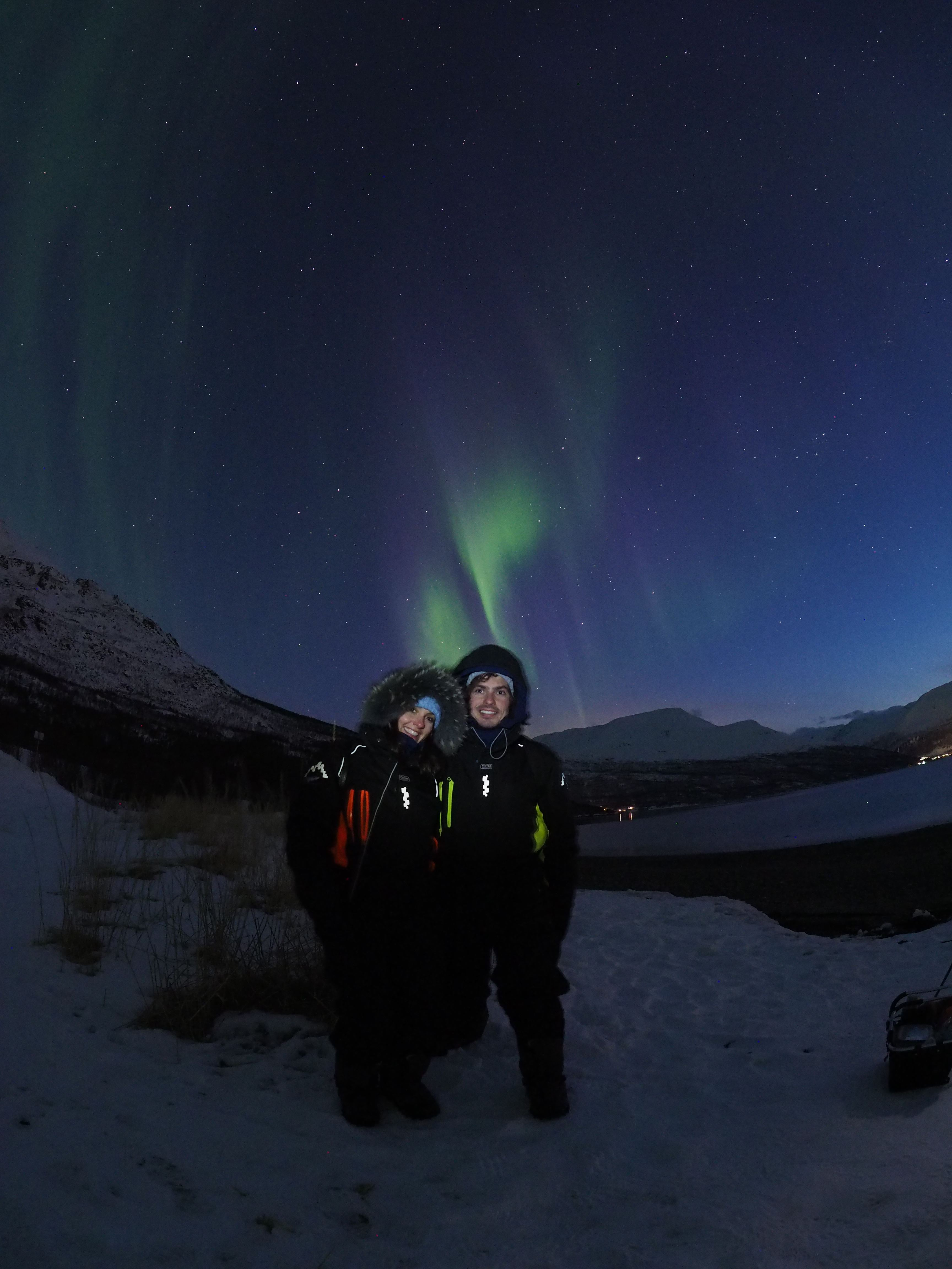 Nordlysjakt i april – Kunnskap, fortelling og teknologi – Tromsø Guide