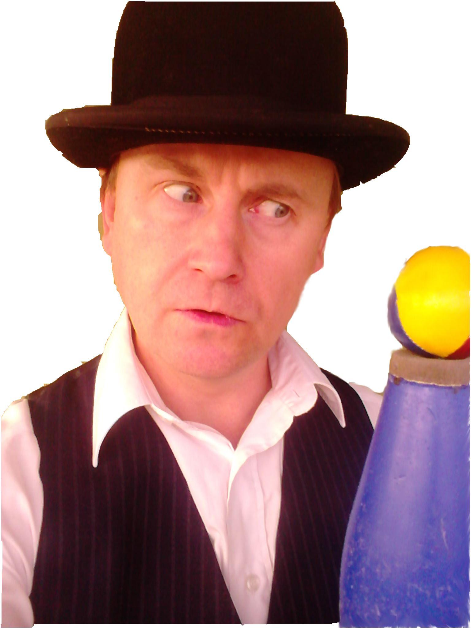 Jörgen Mohlén,  © Jörgen Mohlén, Hemjonglören med plommonstop