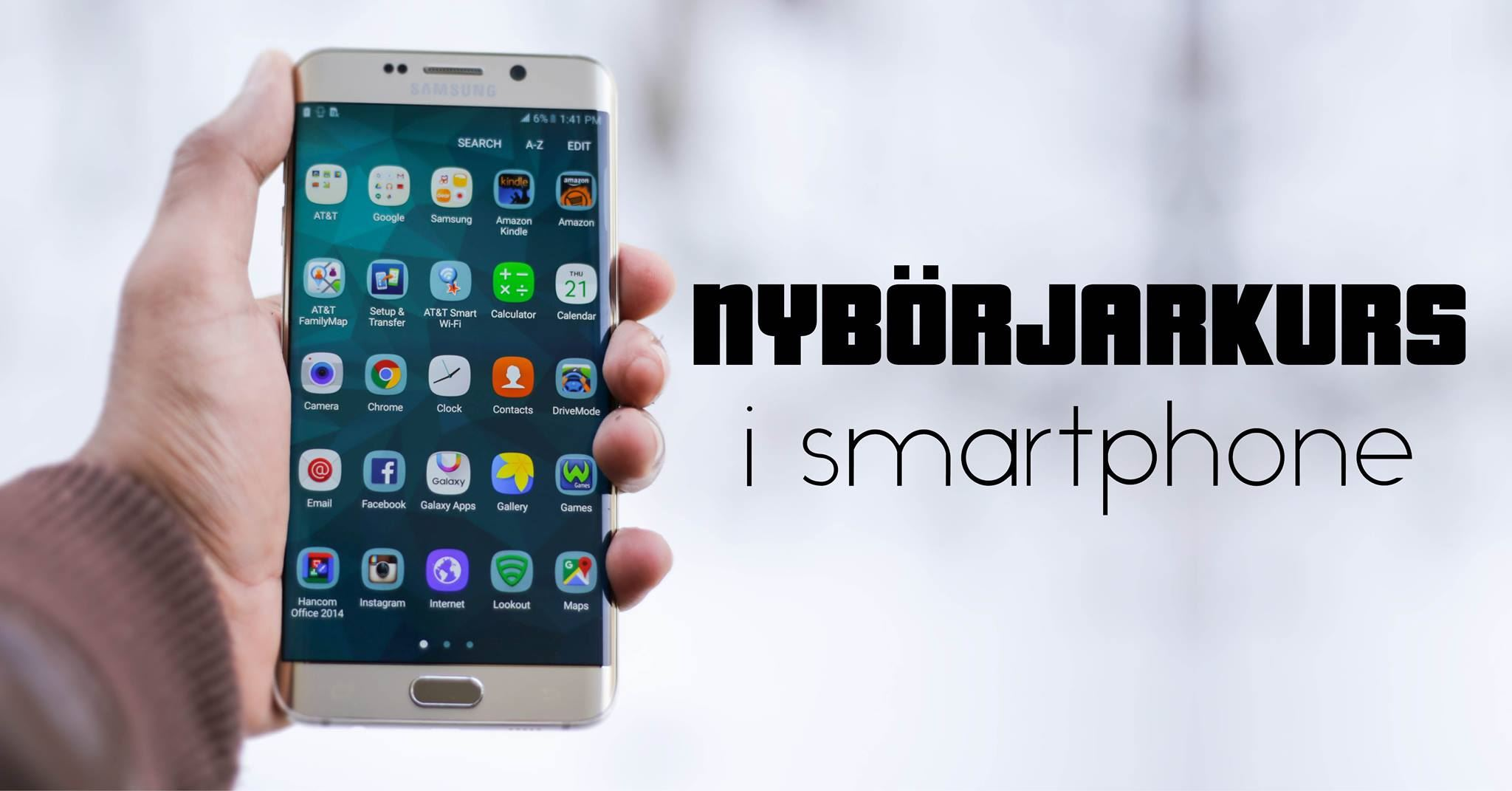 Nybörjarkurs i smartphone