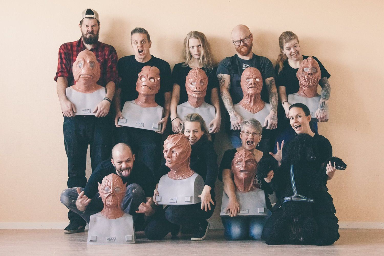 Helsinglight, Ilsbo, Hälsingland, Sweden, 10-day course silicone maskmaking workshop,  © Helsinglight, Ilsbo, Hälsingland, Sweden, 10-day course silicone maskmaking workshop, Helsinglight, Ilsbo, Hälsingland, Sweden, 10-day course silicone maskmaking workshop