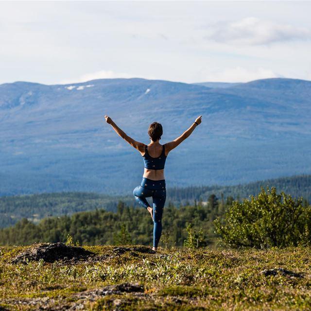 Yoga och vandringskurs