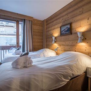 3 rooms 7 people / Chalet du Forum B117