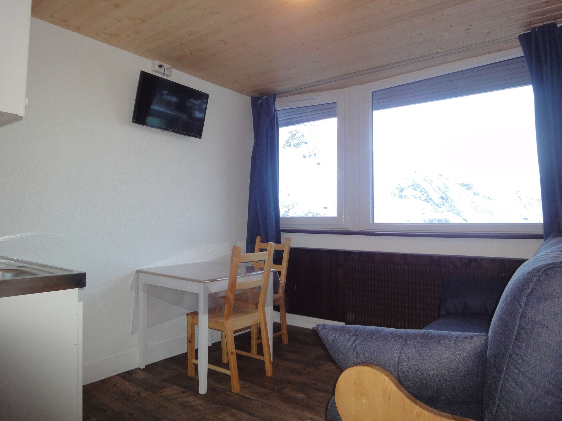 Studio 2 personnes skis aux pieds / VANOISE 31