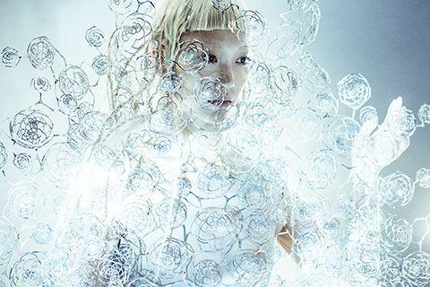 Iris van Herpen,  © Iris van Herpen, Art Friday och Hollywoodfysik på Bildmuseet!