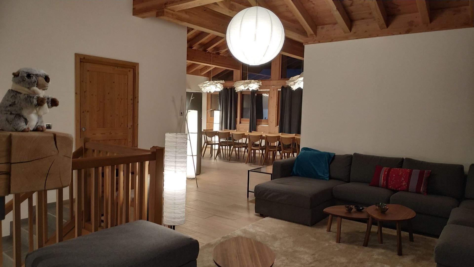 8 Room 16 Pers ski-in ski-out / CASEBLANCHE I6