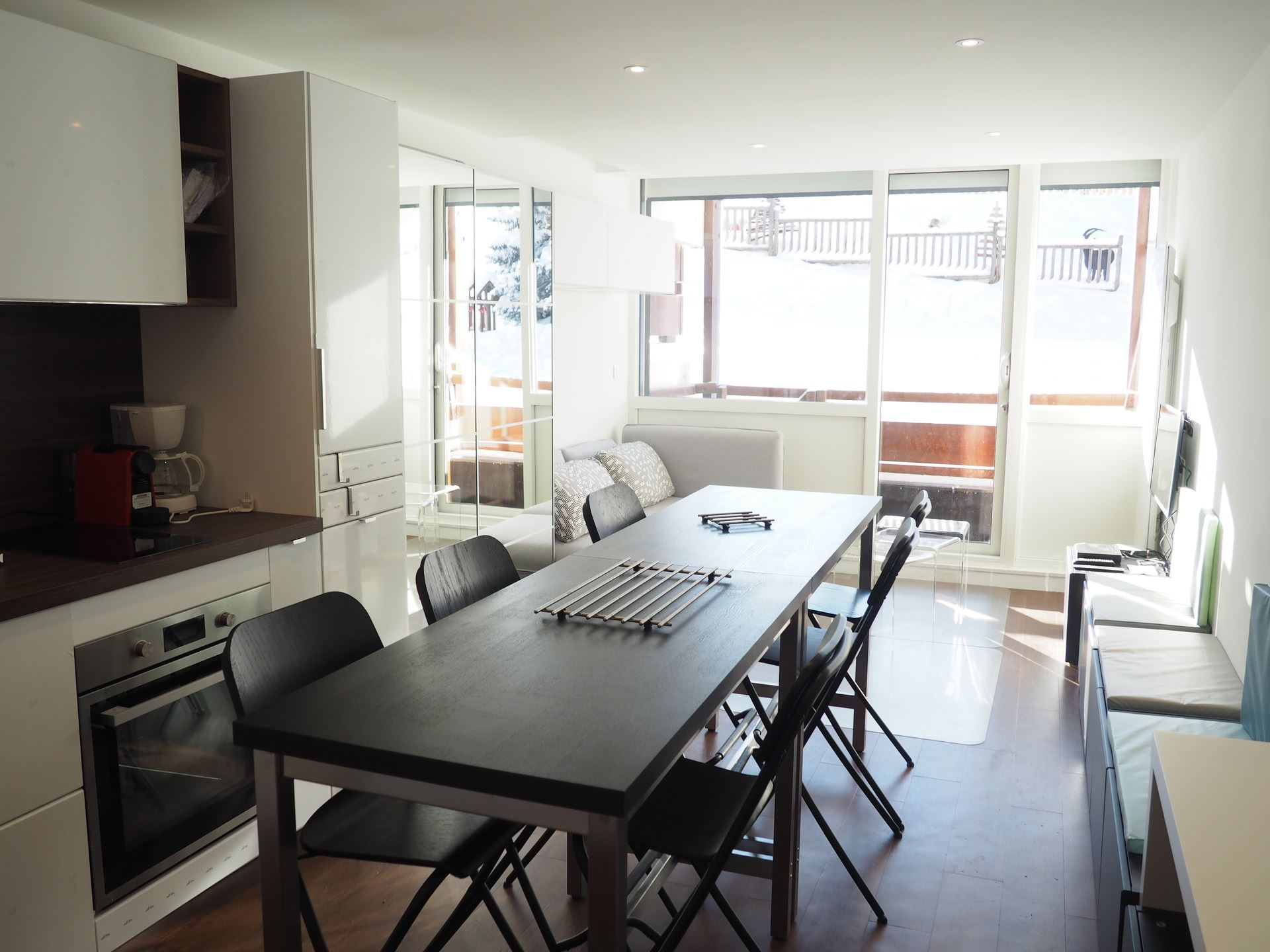 2 Rooms 4 Pers ski-in ski-out / BURONS R09