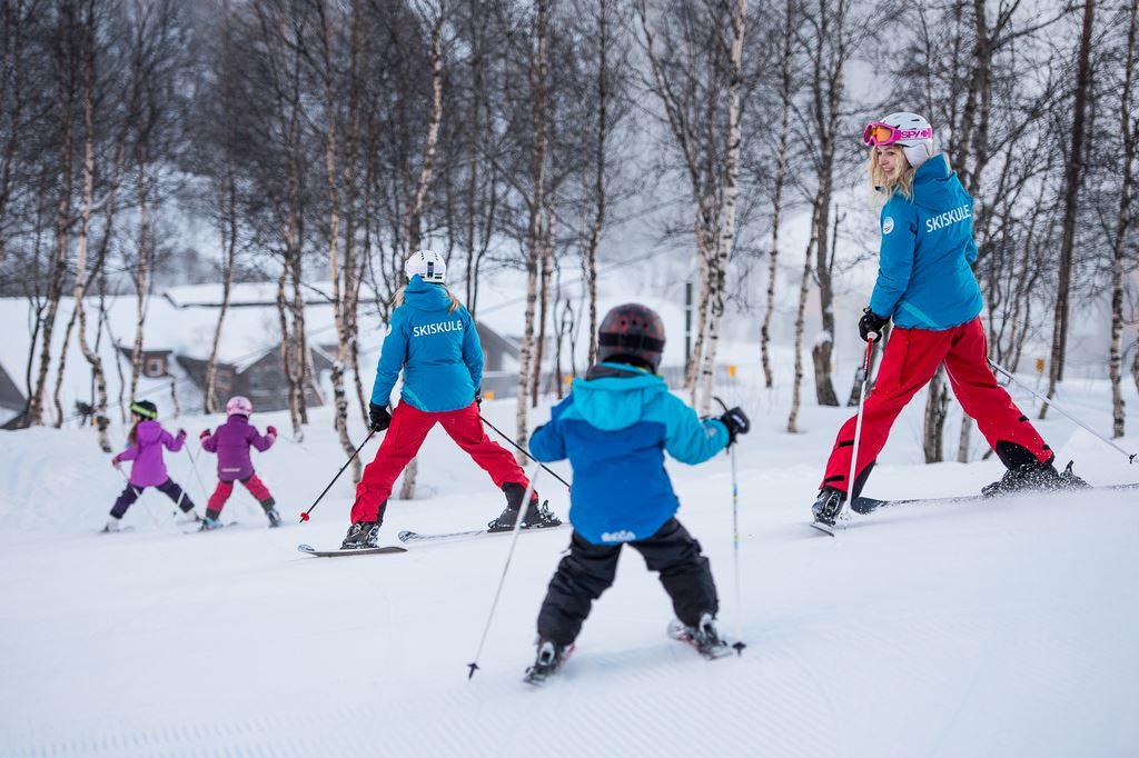 Skikurs for born - laurdag og sundag