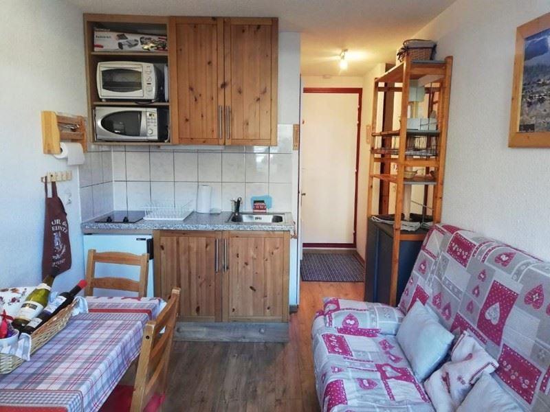 4 Pers studio with cabin ski-in ski-out / SARVAN 707