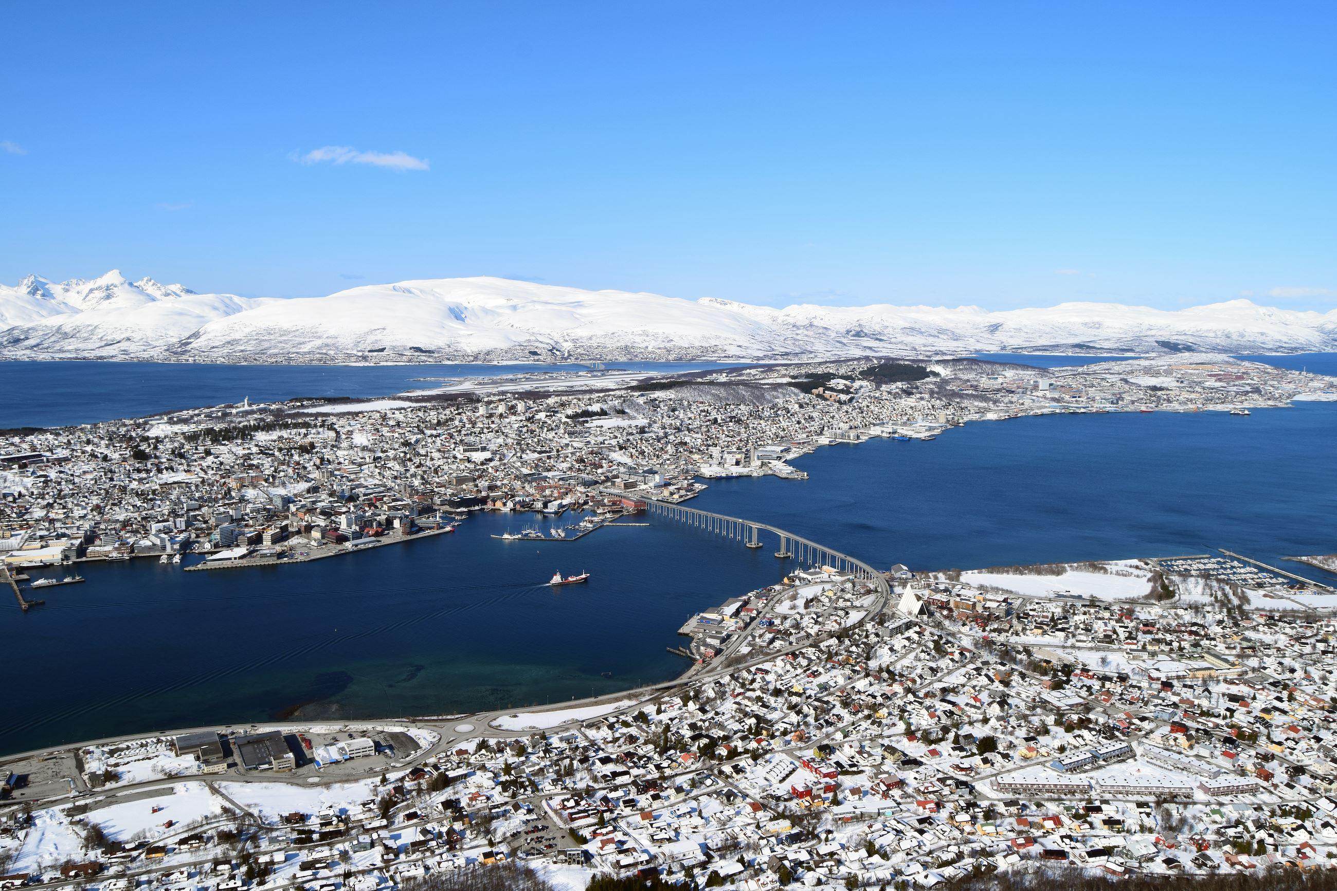Arktisk panorama-Farout