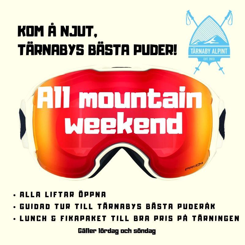 All mountainweekend