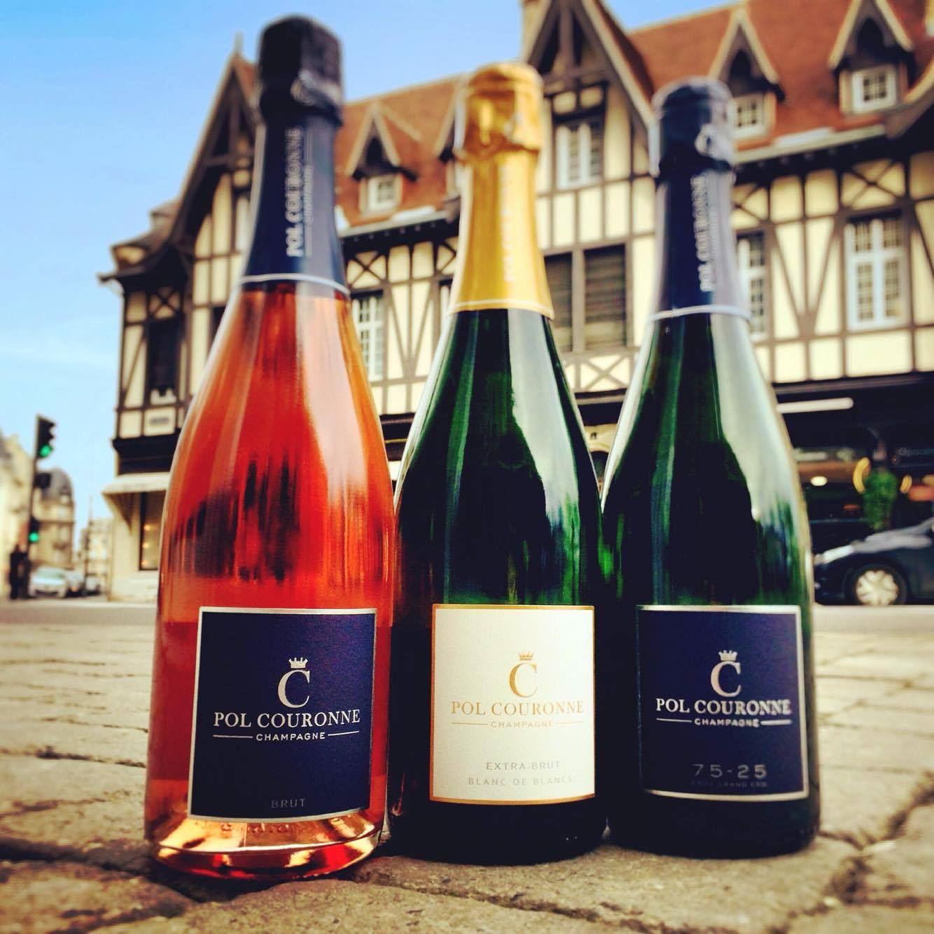 Champagne Pol Couronne - Dégustation 3 champagnes