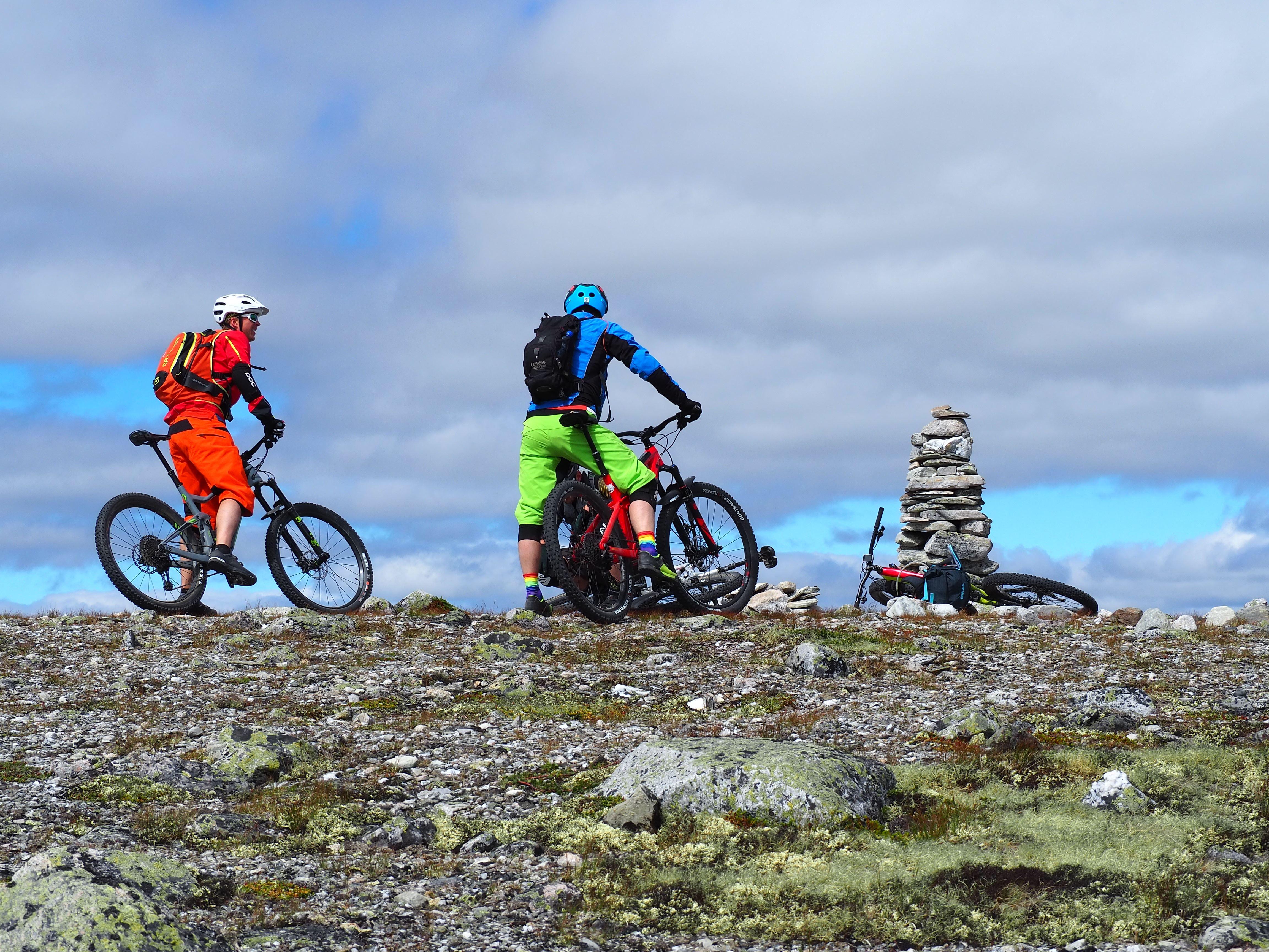 Høgruta på stisykkel fra Alvdal til Ringebu   Urørt Ski og sykkeleventyr