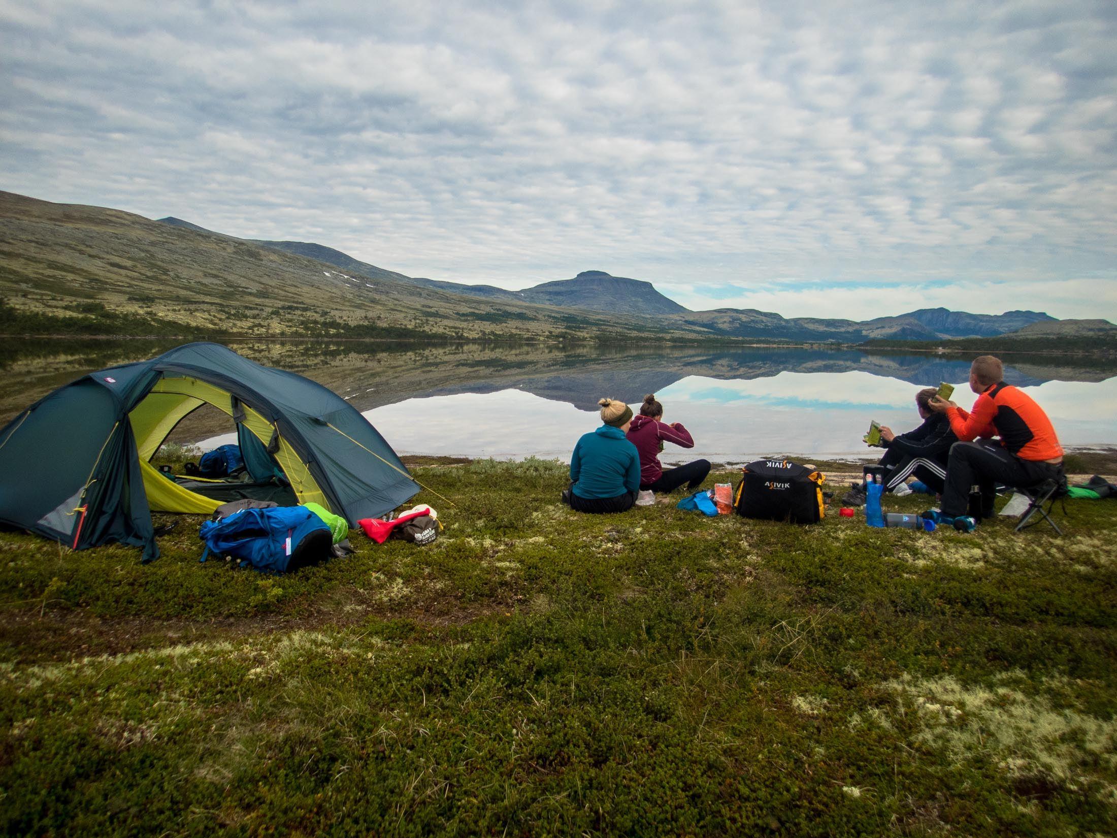 Packraftkurs i Rondane