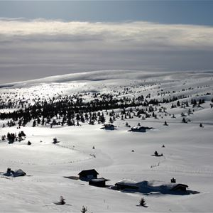 Easter skiing in Hafjell Norway