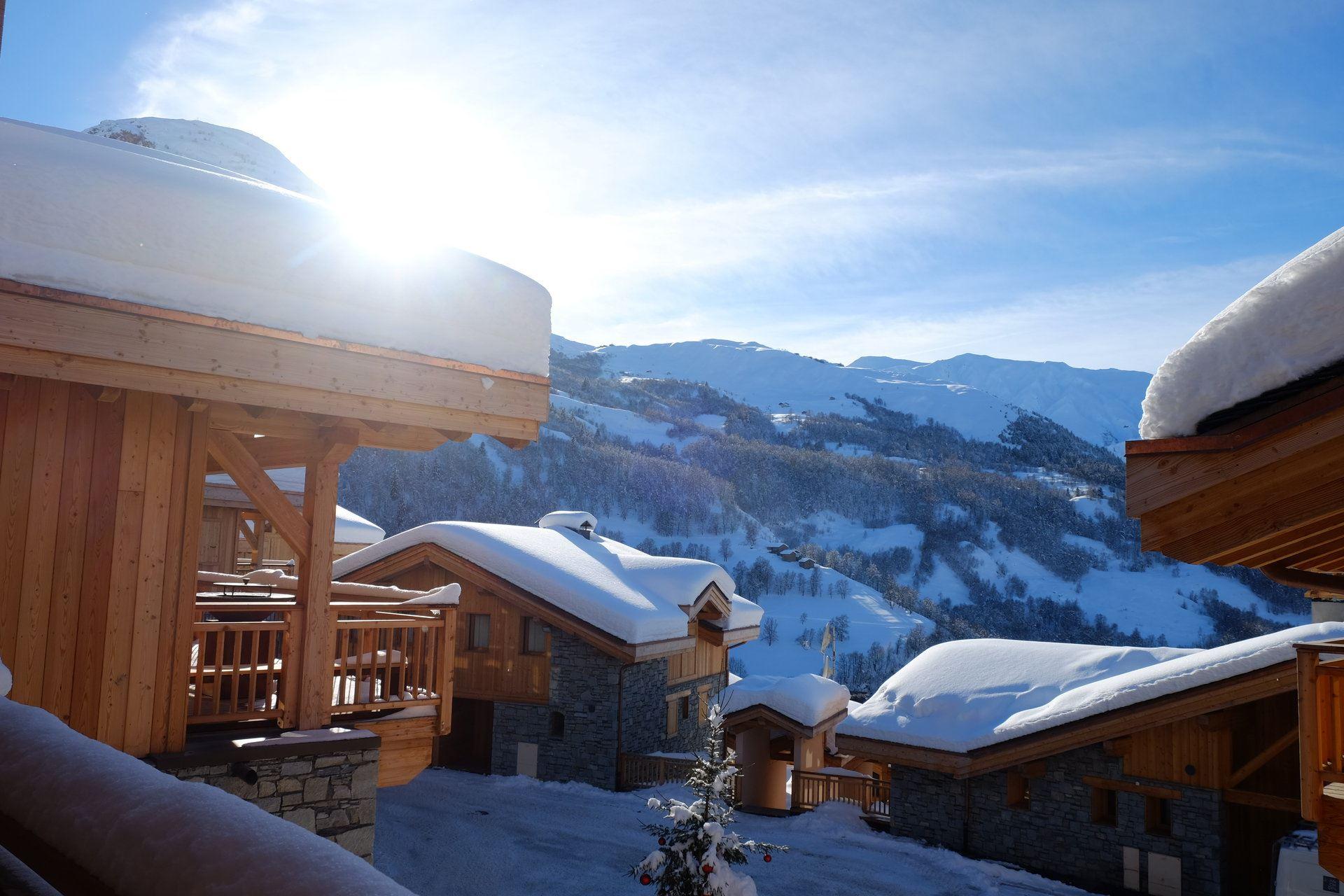 Chalet 8 Pièces 14 Pers skis aux pieds / CASEBLANCHE K3