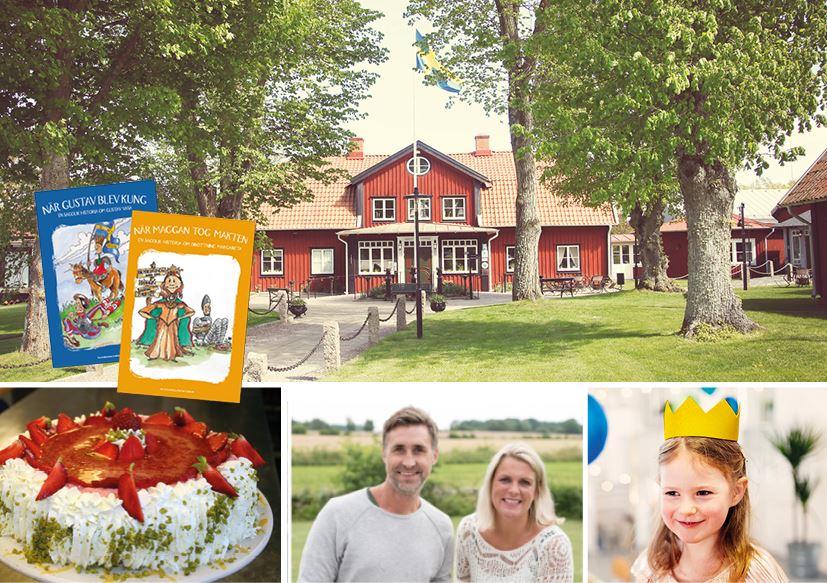 Tårtkalas för grevskapets prinsar & prinsessor