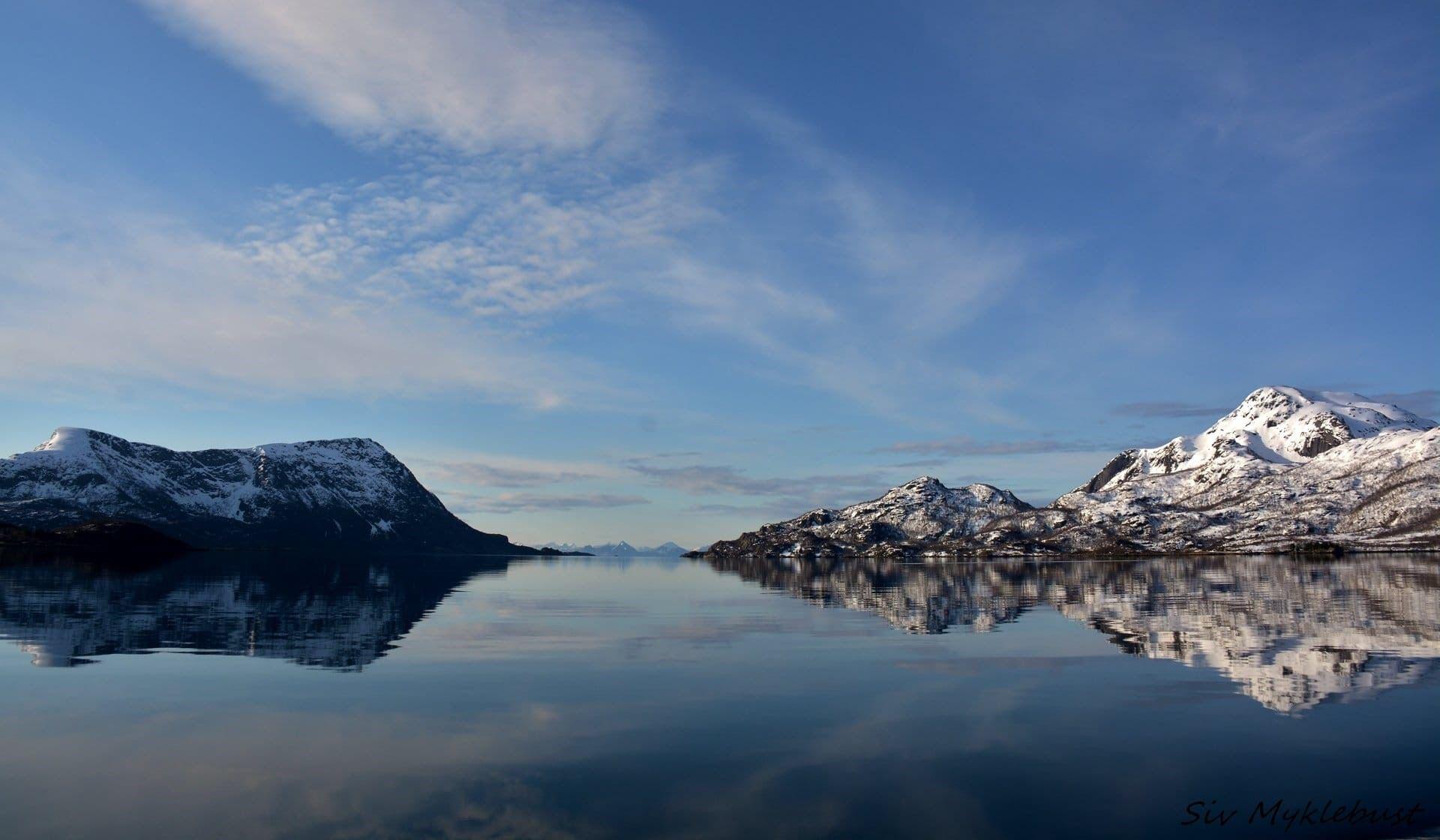 RIB tur til Trollfjorden på vinteren med RIB-Lofoten