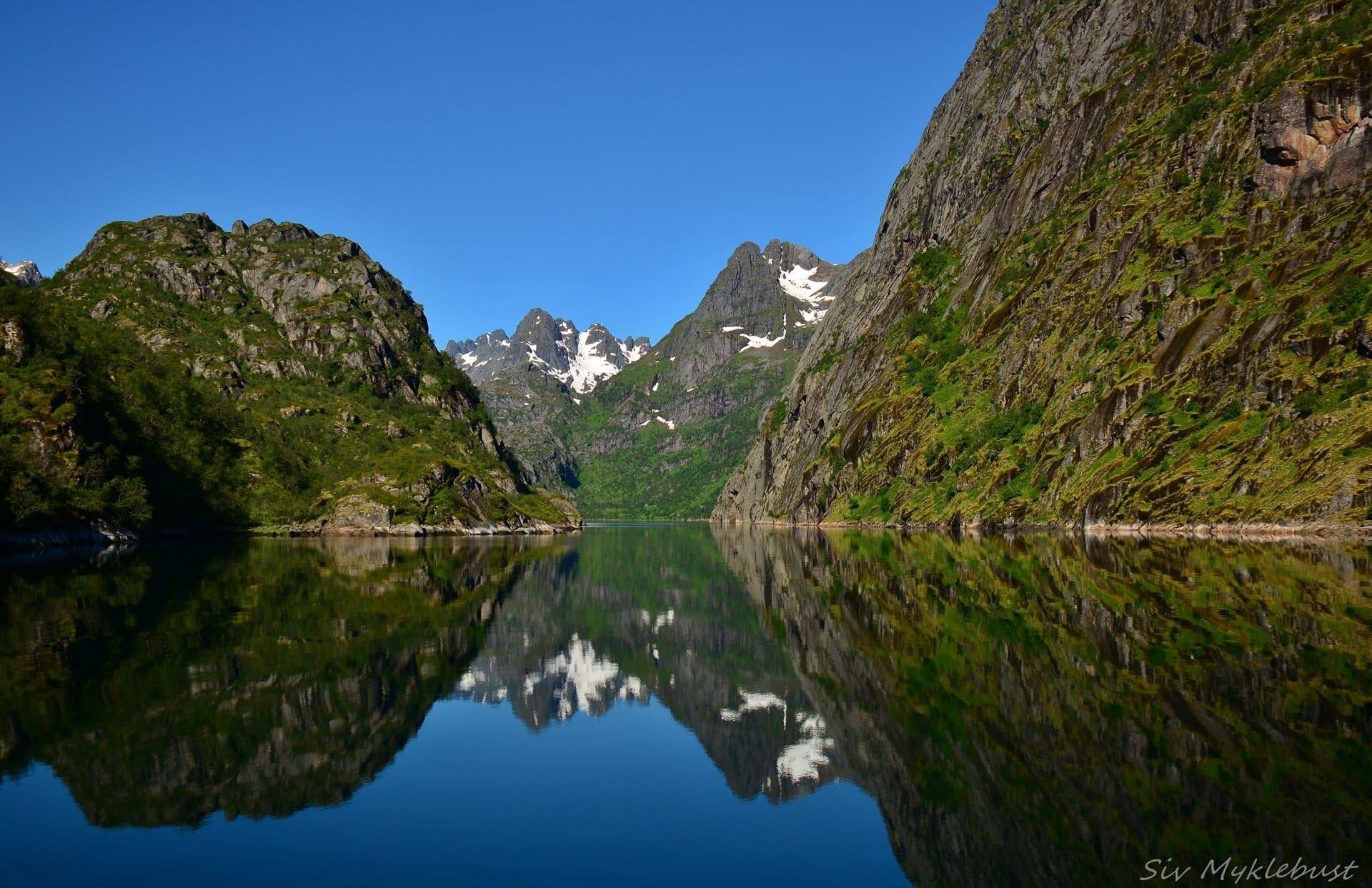RIB tur til Trollfjorden på sommeren med RIB-Lofoten