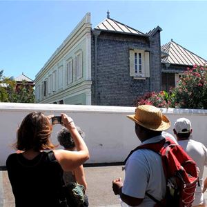 Die kreolischen Villen von Saint-Denis