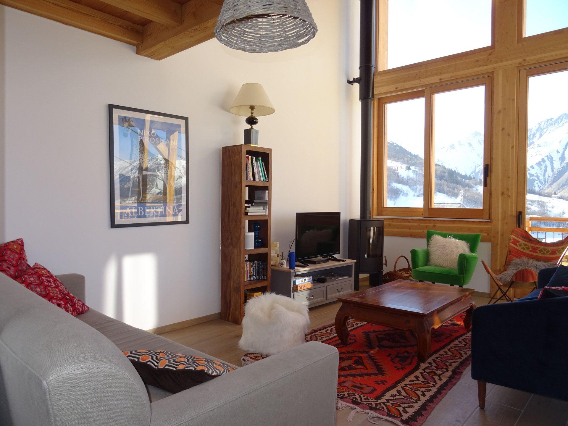 5 Room 8 Pers ski-in ski-out / CASEBLANCHE E15