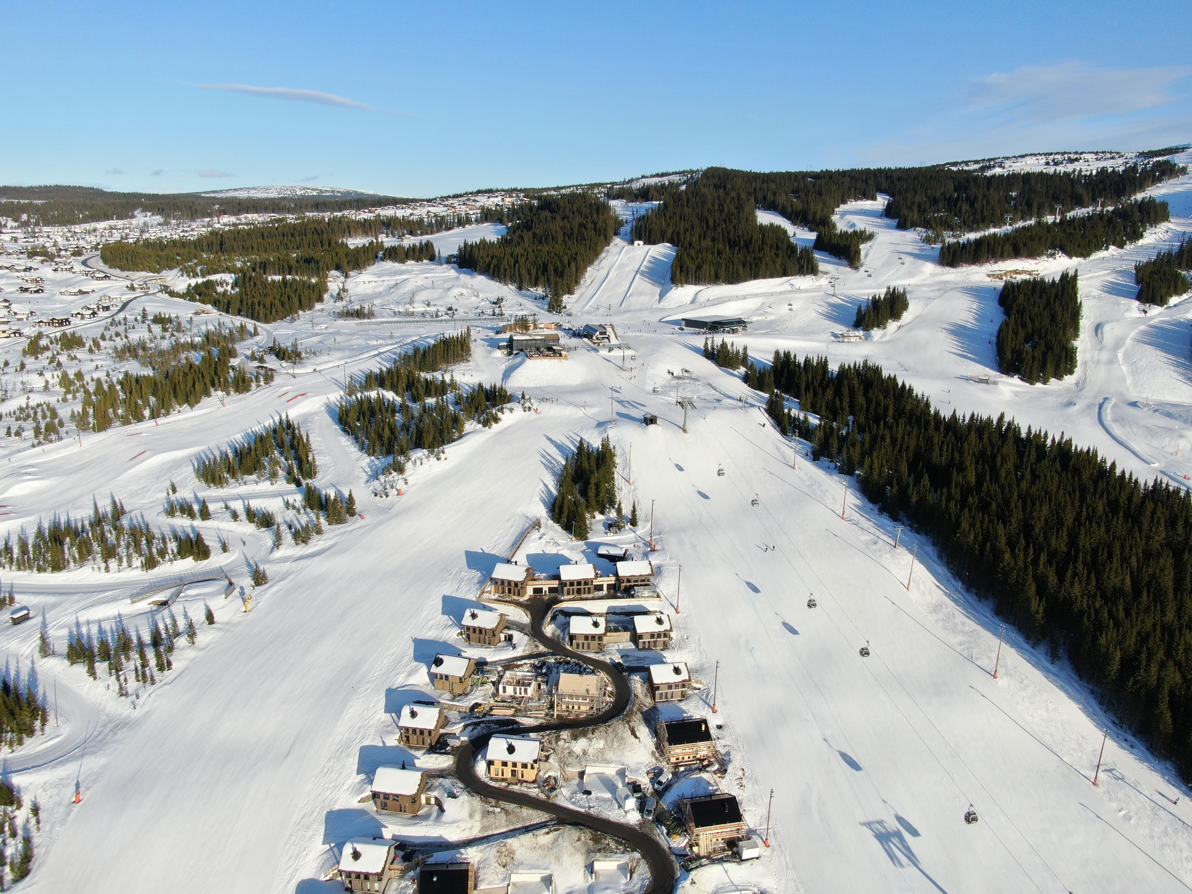 Alpine ski race for kids